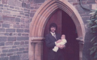 Christening at Newport Church