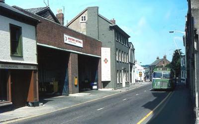 Boutport Street | Bus Depot | Green Lanes