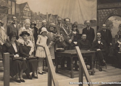 1929-1981 Town Council Album, Image #43 - Opening of Waifs & Strays Fete