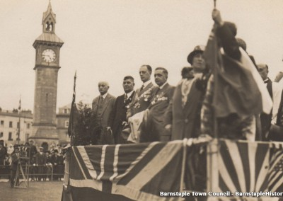 1929-1981 Town Council Album, Image #47 Visit of Col. Brown Chairman of British Legion