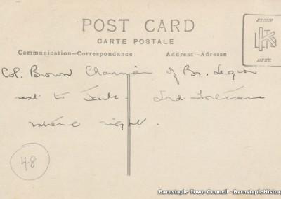1929-1981 Town Council Album, Image #47-col-brown-british-legion-chairman-back