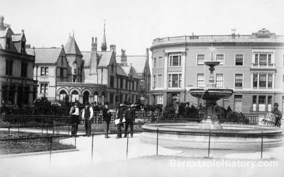 Barnstaple Square | Fountain