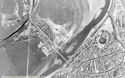 Barnstaple 1946 Aerial View