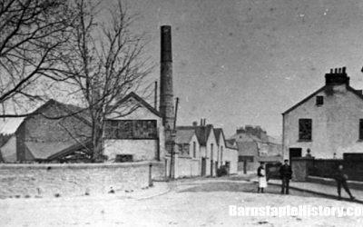 Looking up Newport Road – Barnstaple Then & Now