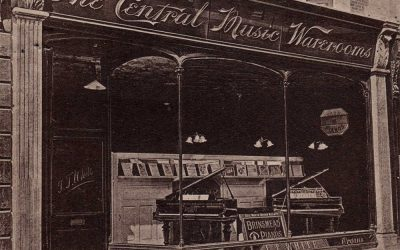 Central Music Warerooms – Barnstaple Then & Now
