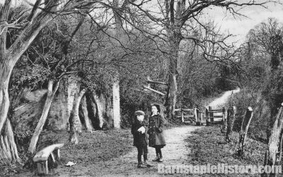 Anchor Woods – Barnstaple Then & Now