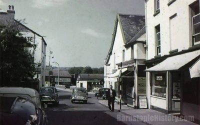 Barnstaple High Street – Northgate – Then & Now