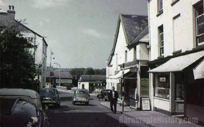 Barnstaple High Street – Northgate – Then & Now