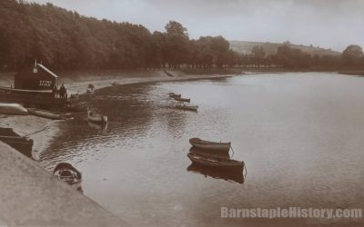 Rock Park Boating Station – Barnstaple Then & Now