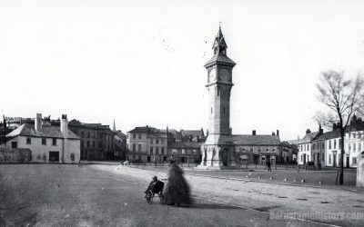 Barnstaple Square & Albert Clock – Barnstaple Then & Now