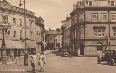 Barnstaple Square – Barnstaple Then & Now