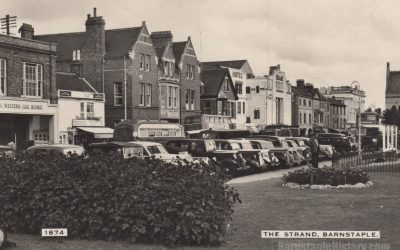 The Strand – Barnstaple Then & Now