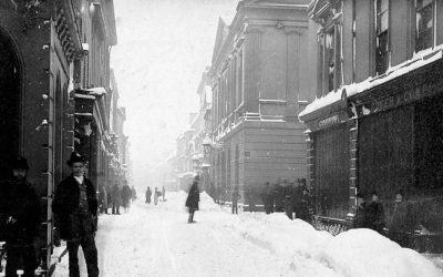Barnstaple High Street – 1881 Blizzard