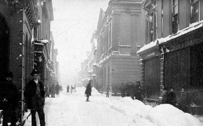 Barnstaple High Street – 1881 Blizzard