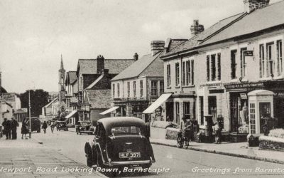 Newport Road – Barnstaple Then & Now