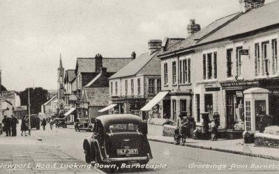 Newport Road – Barnstaple Then & Now
