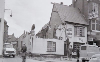 Horse & Groom – Olive Branch – Barnstaple Then & Now