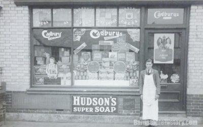 Peakes Grocers – Barnstaple Then & Now