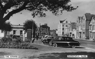The Old Bus Station – Barnstaple Then & Now