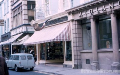 Daws / Dallings / Midland Bank – Barnstaple Then & Now