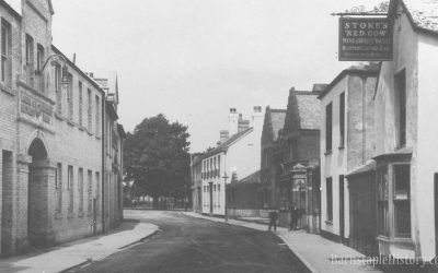 Castle Street / North Walk – Then & Now