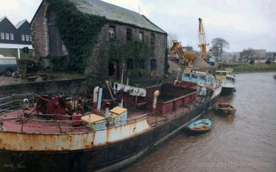 Rolle Quay – River Yeo – Brunswick Wharf – Barnstaple Then & Now