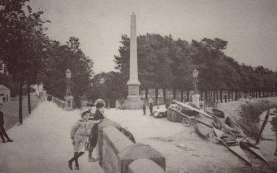 Entrance to Rock Park – Barnstaple Then & Now