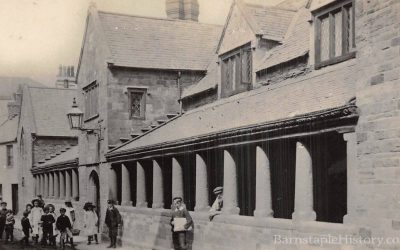Litchdon Street Penrose Almshouses – Barnstaple Then & Now