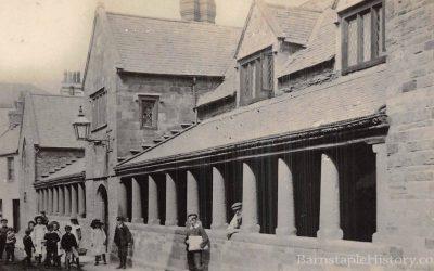 Litchdon Street Penrose Almshouses – Barnstaple Then & Now