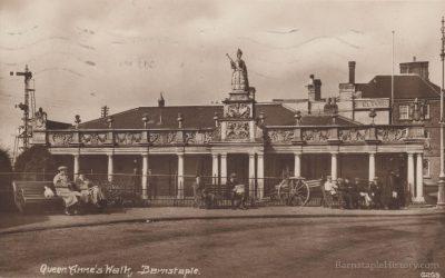 Queen Anne's Walk – Barnstaple Then & Now