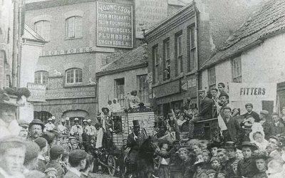 Silver Street – Barnstaple Then & Now