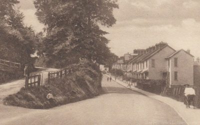 Sticklepath Hill – Barnstaple Then & Now