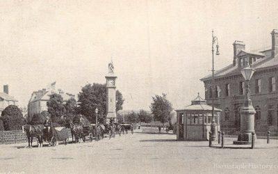Barnstaple Square – Then & Now