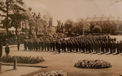 Home Guard – Rock Park – Barnstaple Then & Now