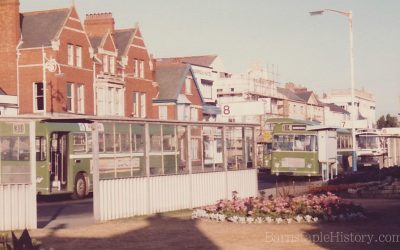 Old Bus Station – Strand – Then & Now