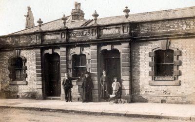 Queen Anne's / Castle Street – Barnstaple Then & Now